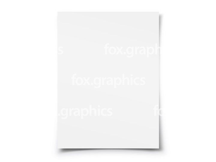 Blank white paper (PNG)