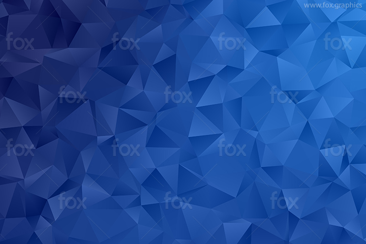 Blue triangles background