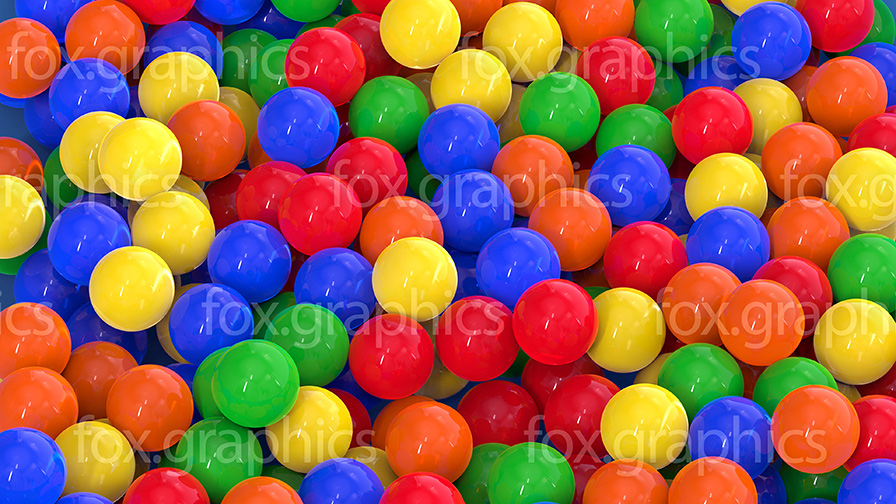 Colorful ball pool
