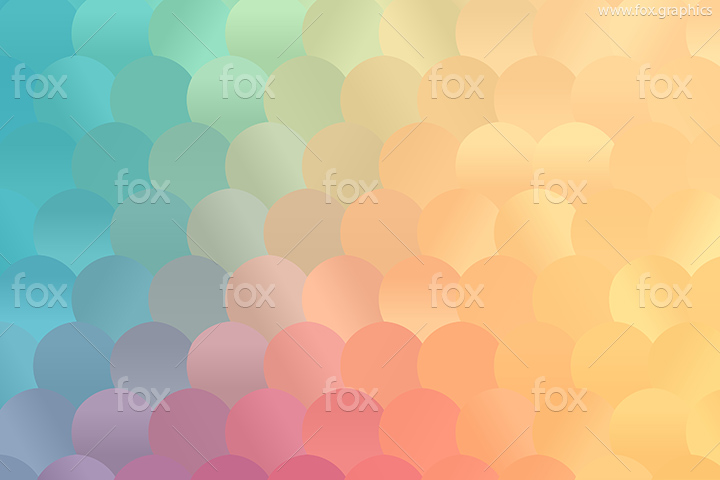 Colorful dotted pattern