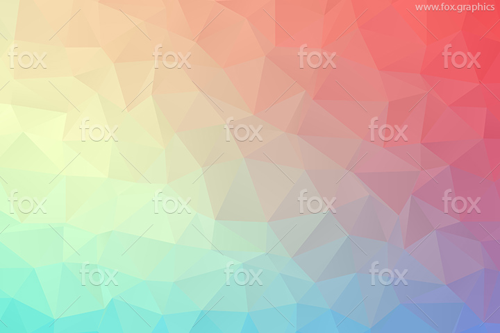 Colorful polygons vector