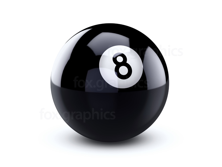 Eight ball PNG