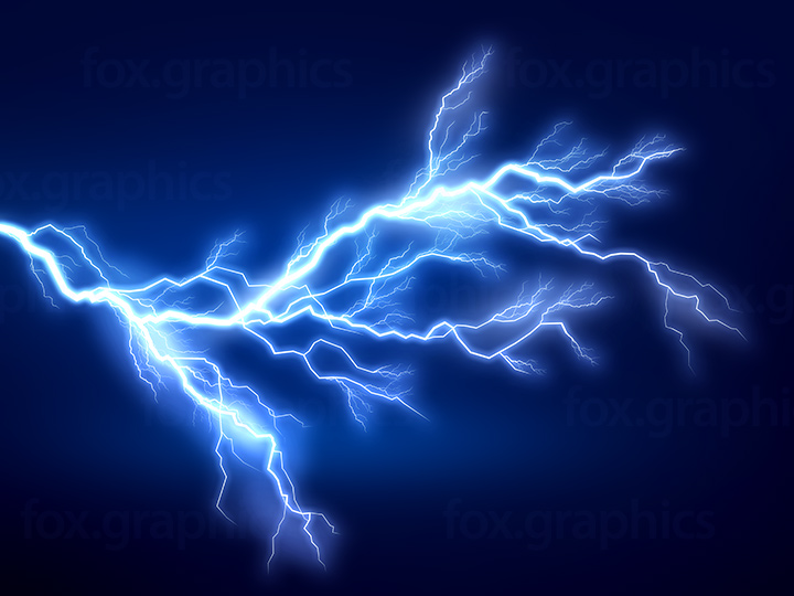 Electric discharge background