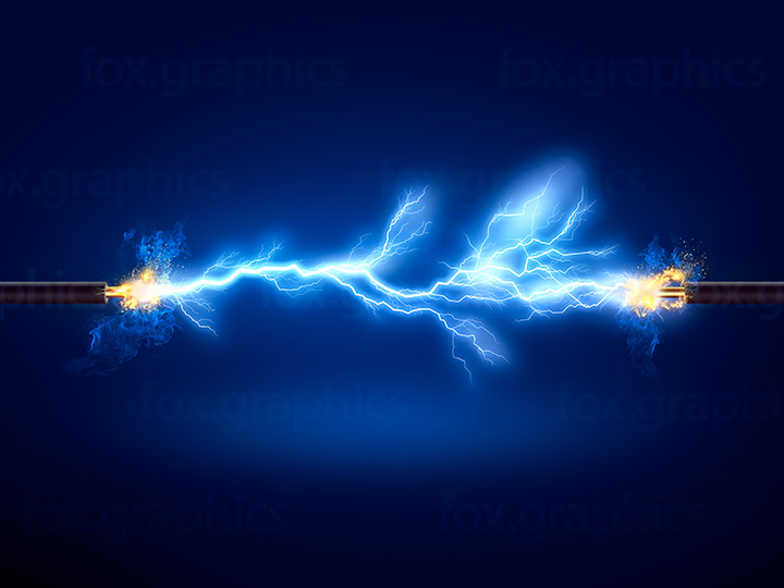 Electric power background