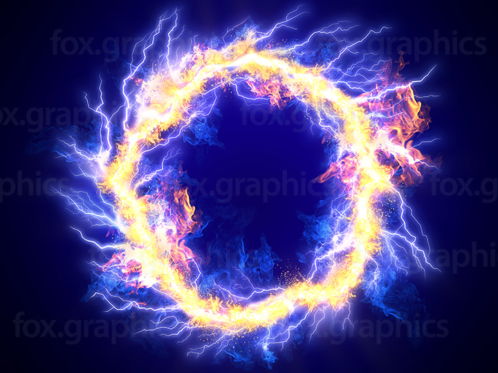 Energy ring background