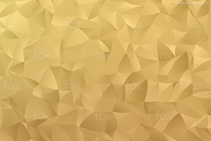 Golden shapes pattern