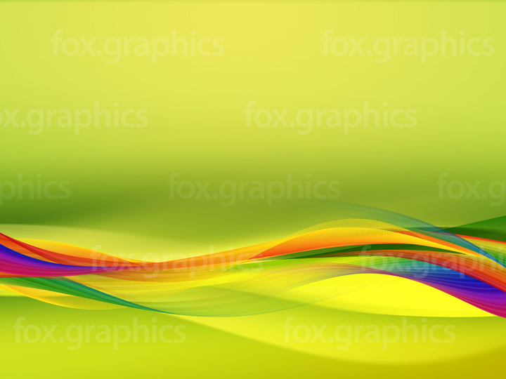 Green flowing background