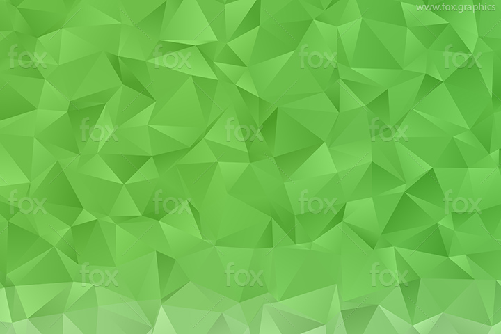 Green triangular pattern
