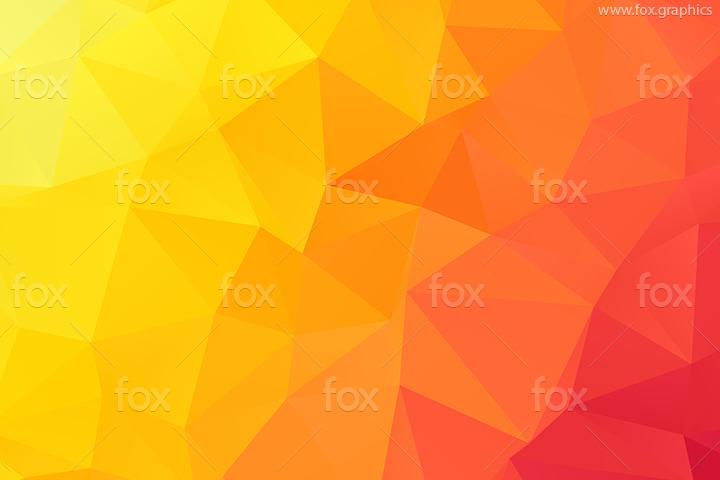 Hot sunset colors pattern