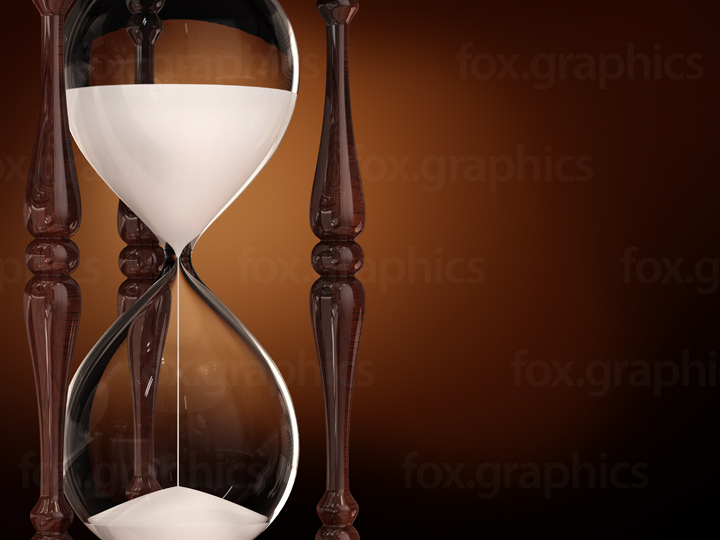 Hourglass background