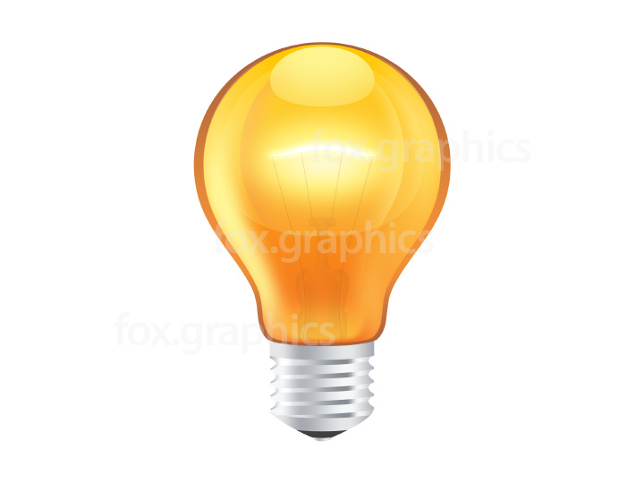 Light bulb icon PSD