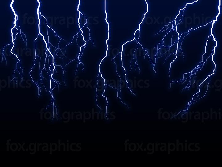 Lightning bolts, vector
