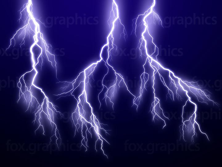 Lightning PSD template