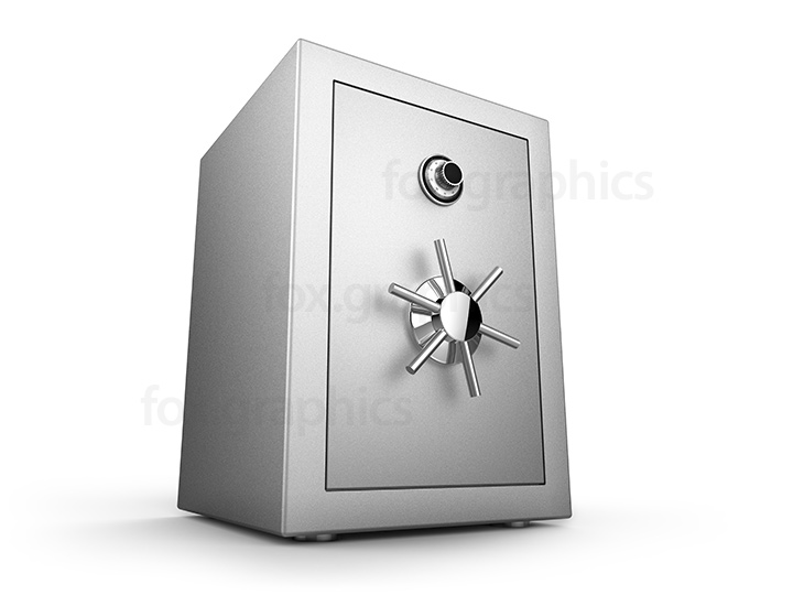 Metal safe isolated