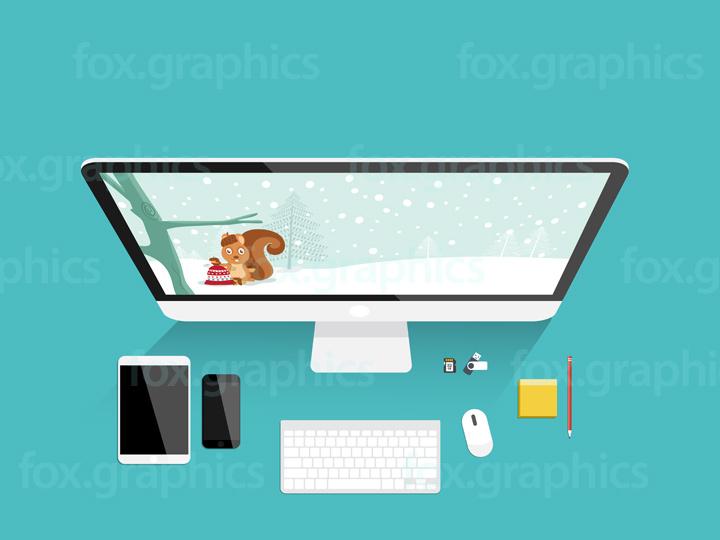 Modern office background