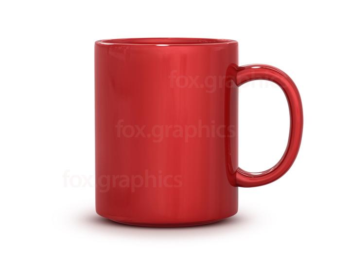 Red mug PNG