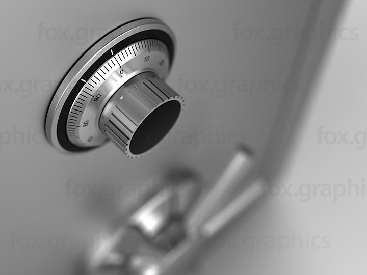 Safe combination lock