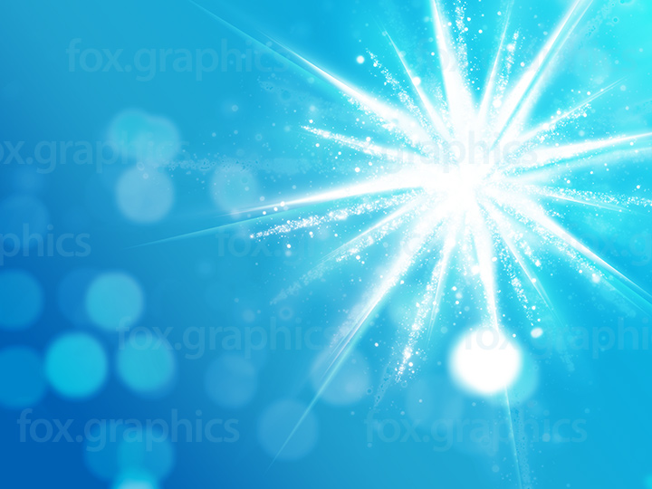 Shining star background