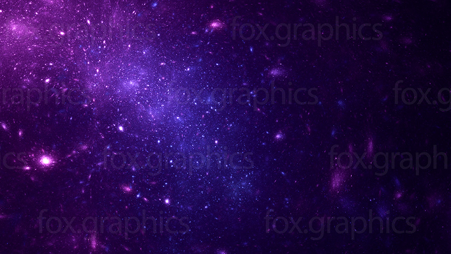 Stars in deep space