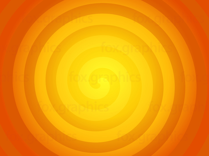 Sun colors spiral, vector