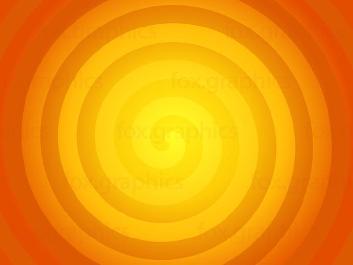 Sun colors spiral, vector