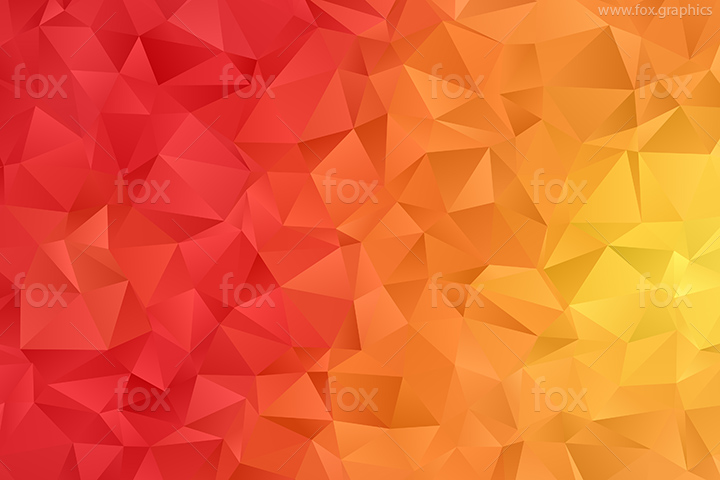 Sunny triangles pattern