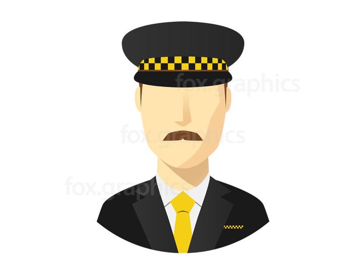 Taxi service icon, vector