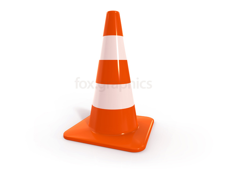 Traffic cone PNG