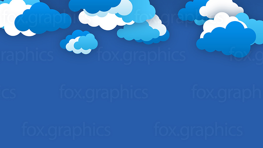 Vector clouds wallpaper