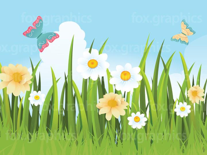 Vector grass illustration