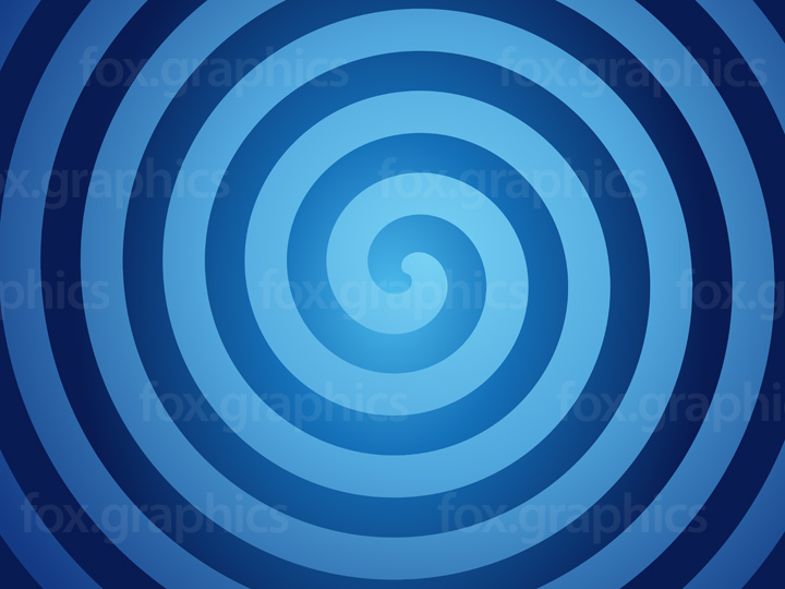 Vector spiral background