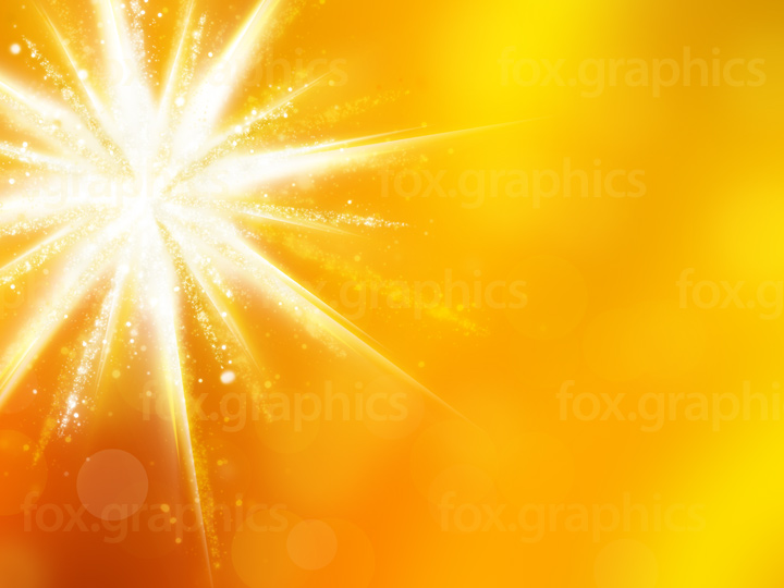Yellow star background